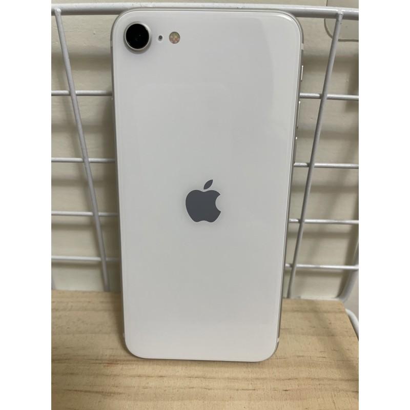 iPhone SE2 128G (二手機9成新保固中)附手機殼及保貼