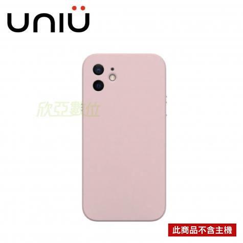 UNIU NEAT 矽膠保護殼 iPhone 12 6.1 粉