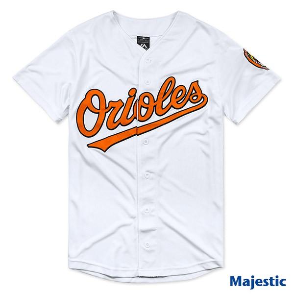 騎士風~ MLB 美國大聯盟 Majestic 金鶯 棒球 球衣 快排 6460703-018