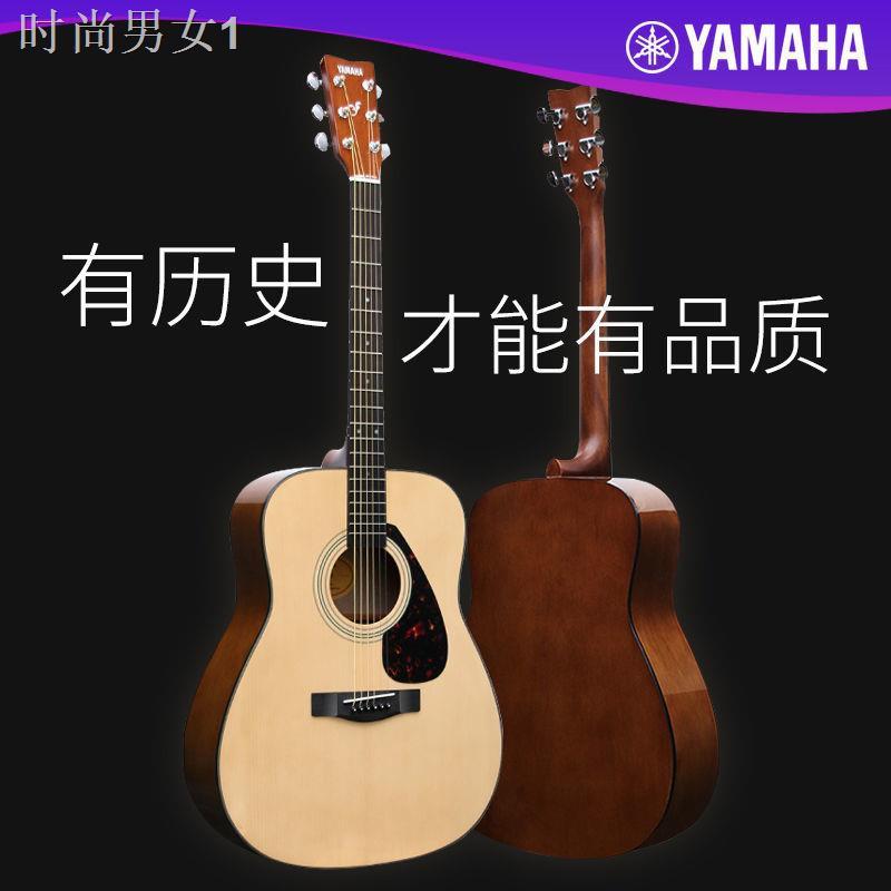 【防疫好物】۩۩∋YAMAHA雅馬哈f310民謠木吉他初學者入門學生男女41寸f600.F370