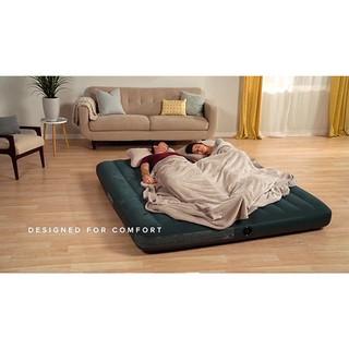 【一露遊你】買床送枕 INTEX 64733  雙人植絨充氣床 露營氣墊床 居家或飯店加床 休閒床墊 睡墊 137公分 宜蘭縣