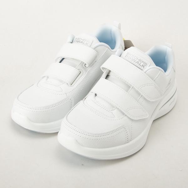 Skechers  女  GOWALK STEADY 皮質健走鞋 全白 護士鞋 工作鞋 124116WHT  現貨