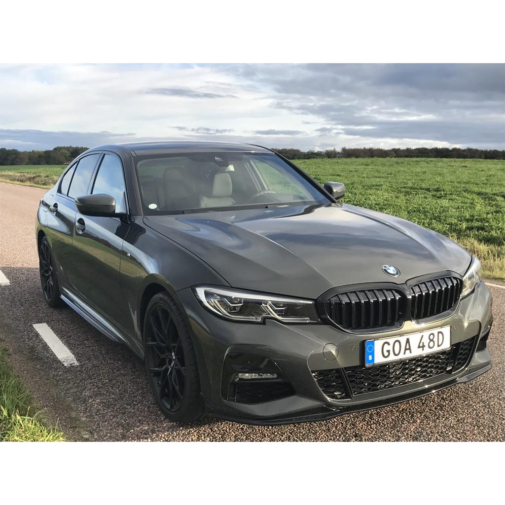 預售特價*德國進口BMW原廠G20 G21 3er高亮黑水箱罩 M Performance Shadowline黑鼻頭
