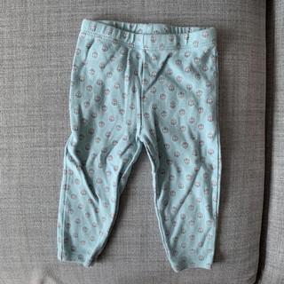 Carter's 卡特 粉藍小花彈性長褲(9m) 台北市