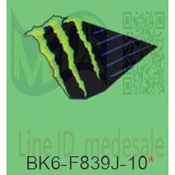 ~MEDE~ R15 V3 V.3 R155 特仕版 貼紙 左車身 MONSTER 字樣貼紙 BK6-F839J-10