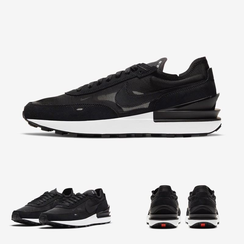 Quality Sneakers - Nike Waffle One 黑白 小Sacai 男鞋 DA7995-001