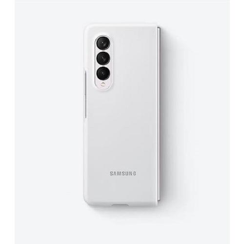 預購 Samsung Galaxy Z Fold3 5G 原廠矽膠薄型背蓋-(黑/綠/白) 原廠公司貨