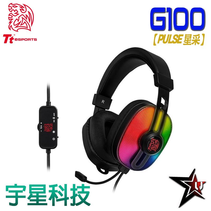 TT 曜越【PULSE G100星采電競耳機】 宇星科技
