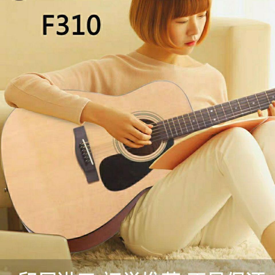 正品雅馬哈吉他F310民謠吉他YAMAHA吉他F600入門木吉他初學者F370