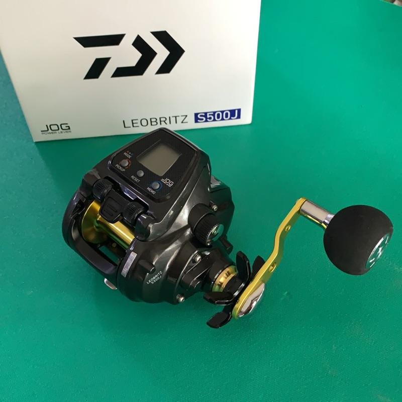 (現貨中)DAIWA 台灣大和原廠公司貨電動捲線器 LEOBRITZ S500J (含原廠保證書)