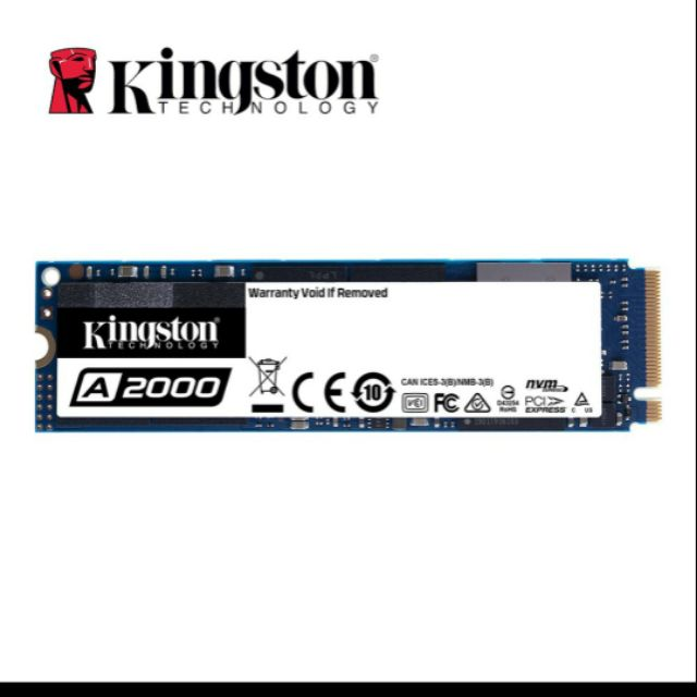[全新] 金士頓 A2000 500G M2 PCIE 固態硬碟
