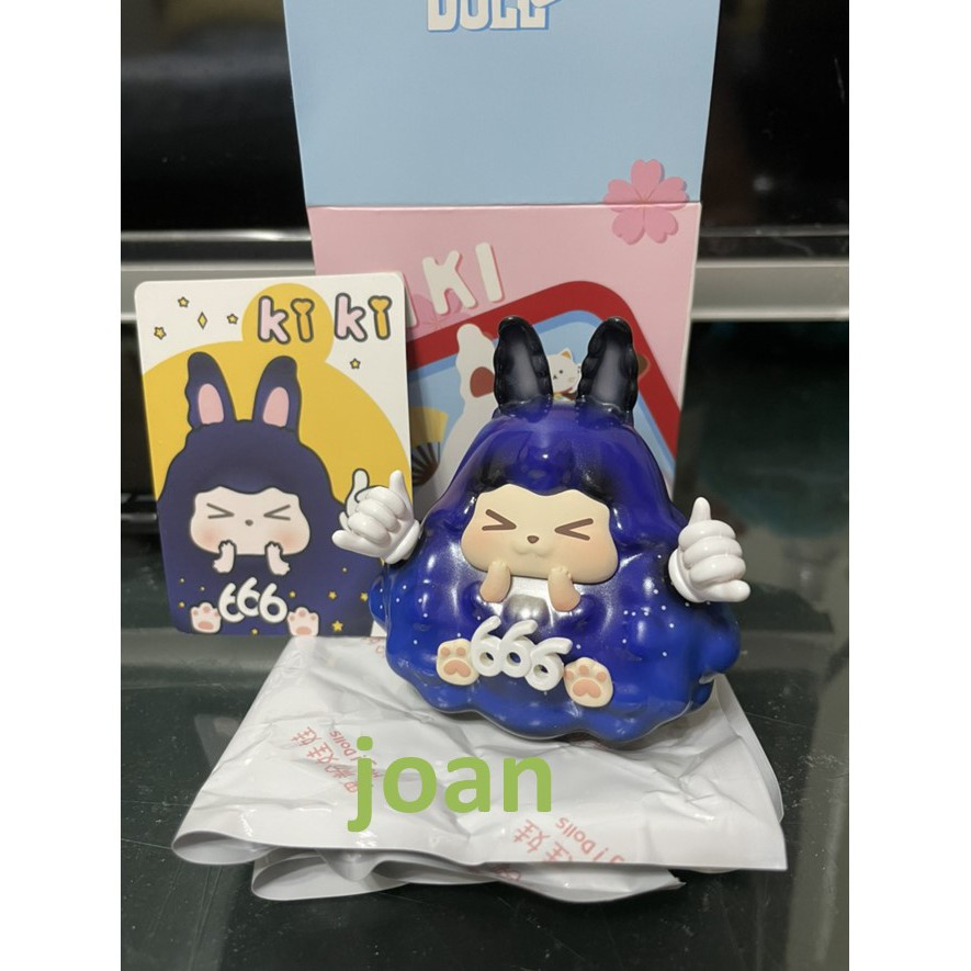 現貨 正版 JPT KIKI-Rabbit 啾咪 福氣系列 盲盒 盲抽 公仔 -單售 666 真不錯 福神