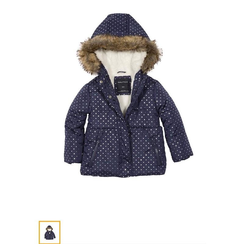 NAUTICA女寶24m鋪棉外套(9成9新)