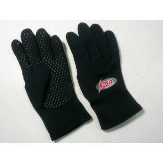 KOSO 全黑止滑手套 防水 防風 潛水布材質 防寒手套 非 M2R