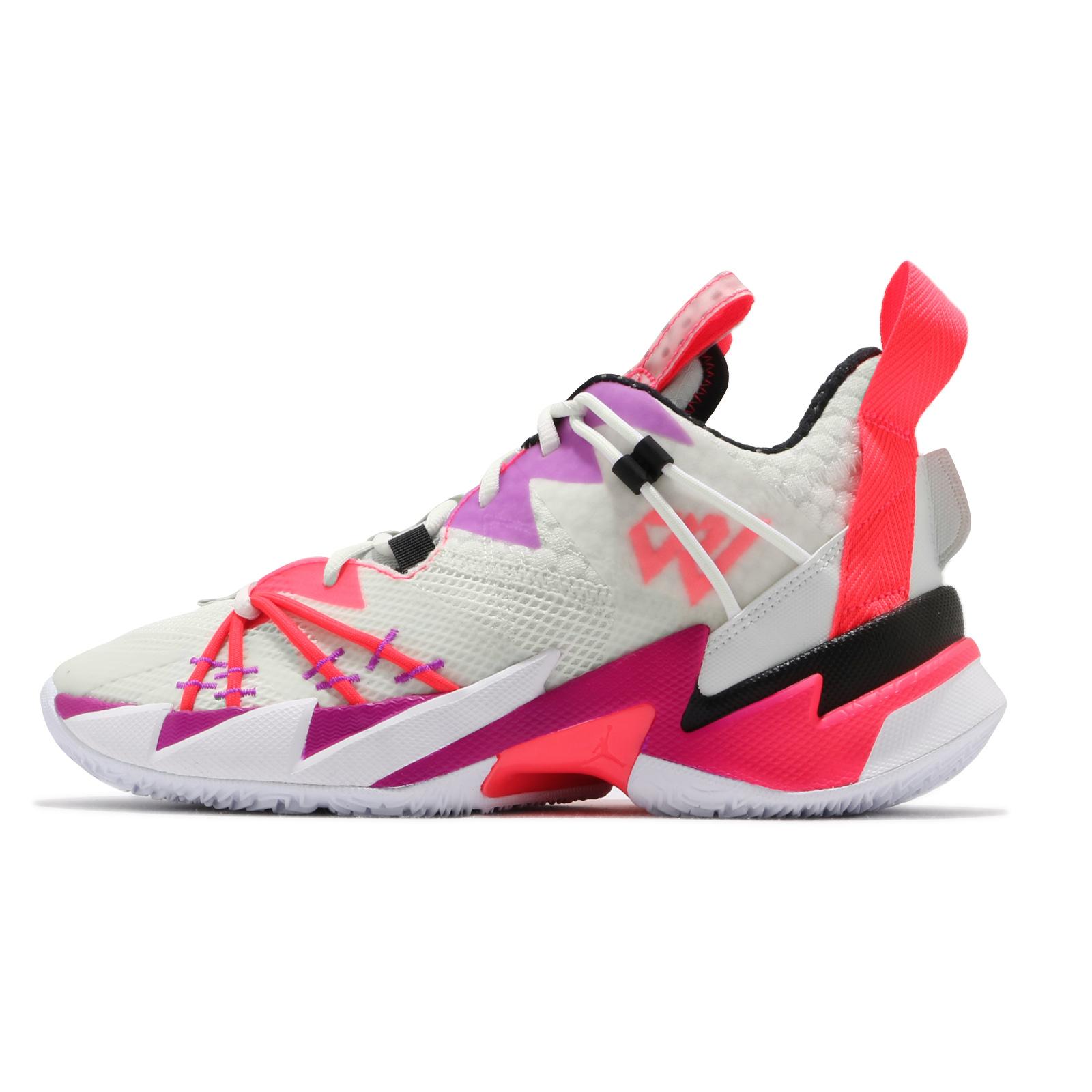 Nike 籃球鞋 Jordan Why Not Zer0.3 SE 白 紫 男鞋 忍者龜【ACS】 CK6612-101