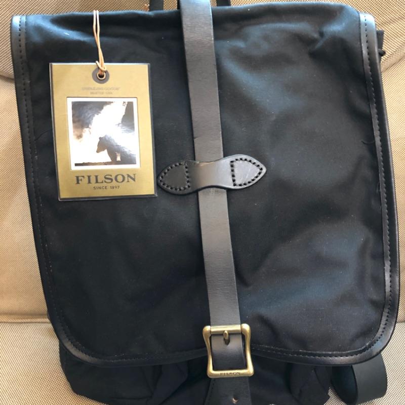 Filson 70017 後背包 黑色