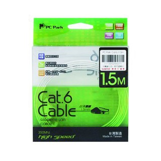 PC PARK Cat.6 1.5M超薄扁線 新北市