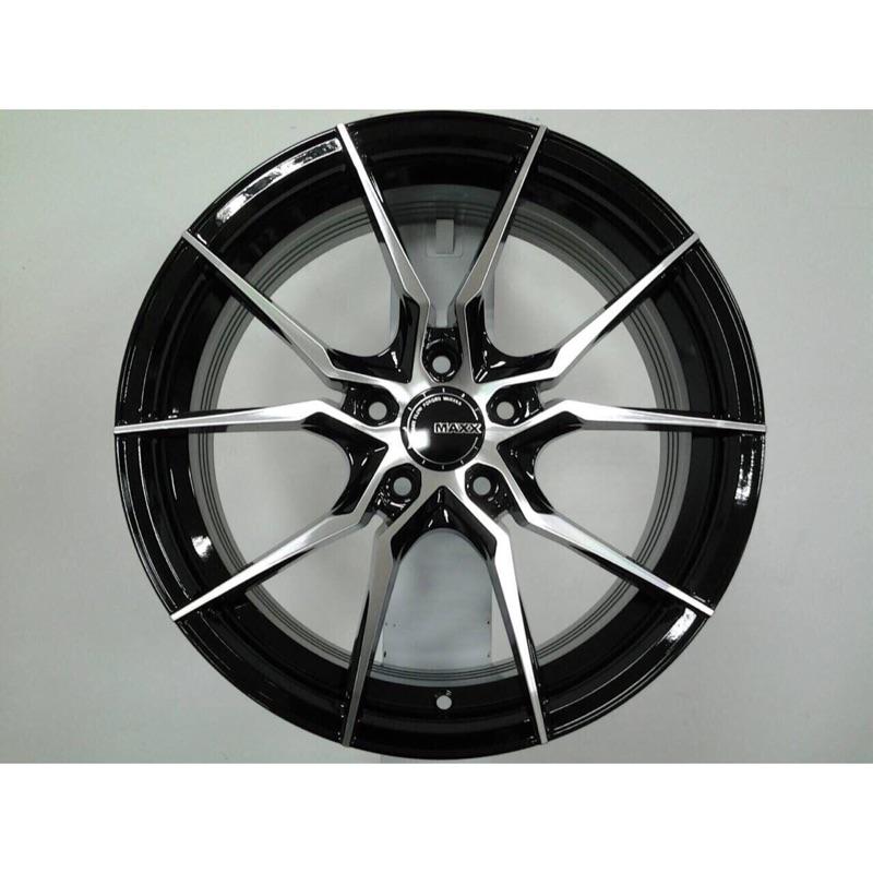 MAXX M06 18吋5*108黑車面旋壓輕量鋁圈 其他尺寸歡迎洽詢 價格標示88非實際售價 洽詢優惠中