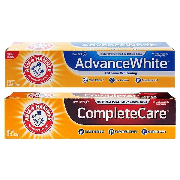 美國 ARM&HAMMER 超潔白/全效護理 牙膏(170g)【小三美日】D187707