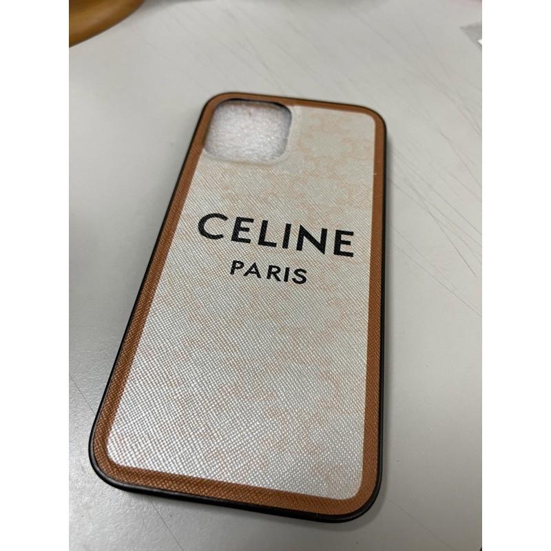iPhone 12 pro max Celine 簡約手機殼