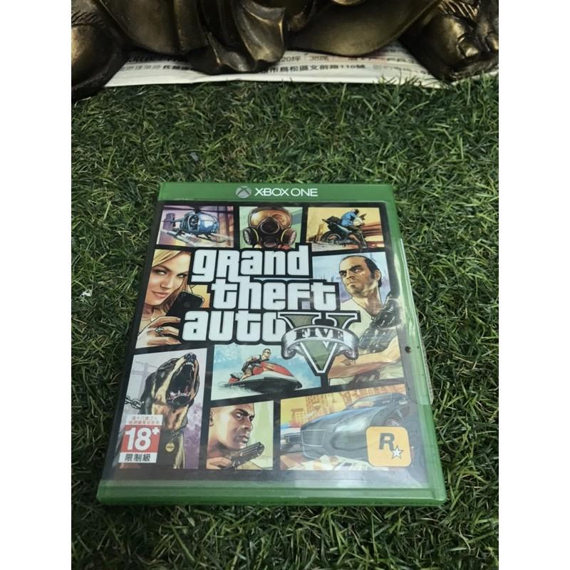 Xbox one 二手遊戲 GTA5 俠盜列車手5 GTA 5