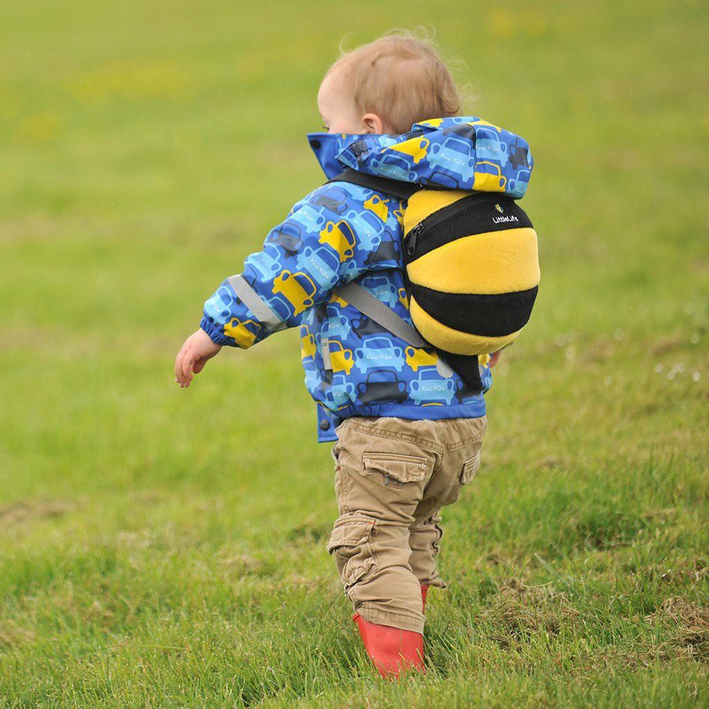 【蒲公英當天出貨】LittleLife蜜蜂造型小童輕背包防走失背包