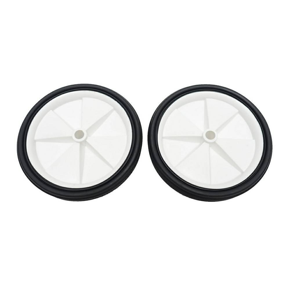 自行車輔助輪零件【白色塑膠輪】(一組2入) 童車腳踏車12吋 16吋 20吋 24吋 26吋都可用