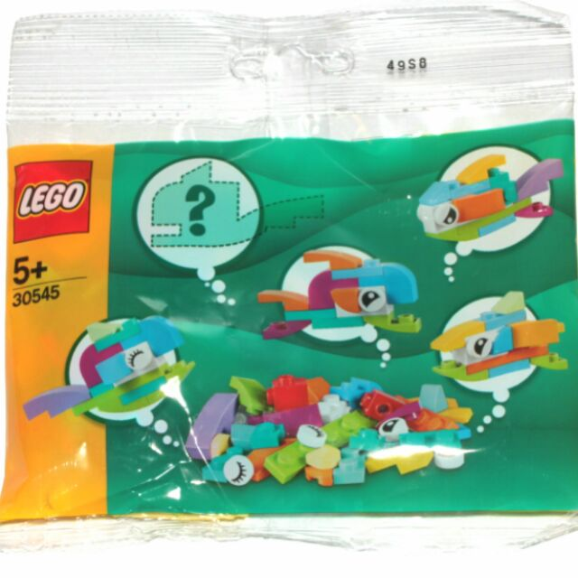 樂高 LEGO 30545 創意 小魚 Fish Free Builds