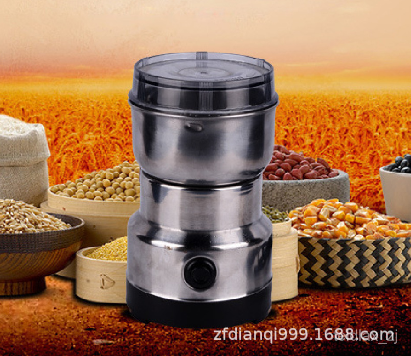 【台灣 熱銷】澳美規粉碎機 家用五穀雜糧咖啡磨粉機 220V110V研磨機打粉機