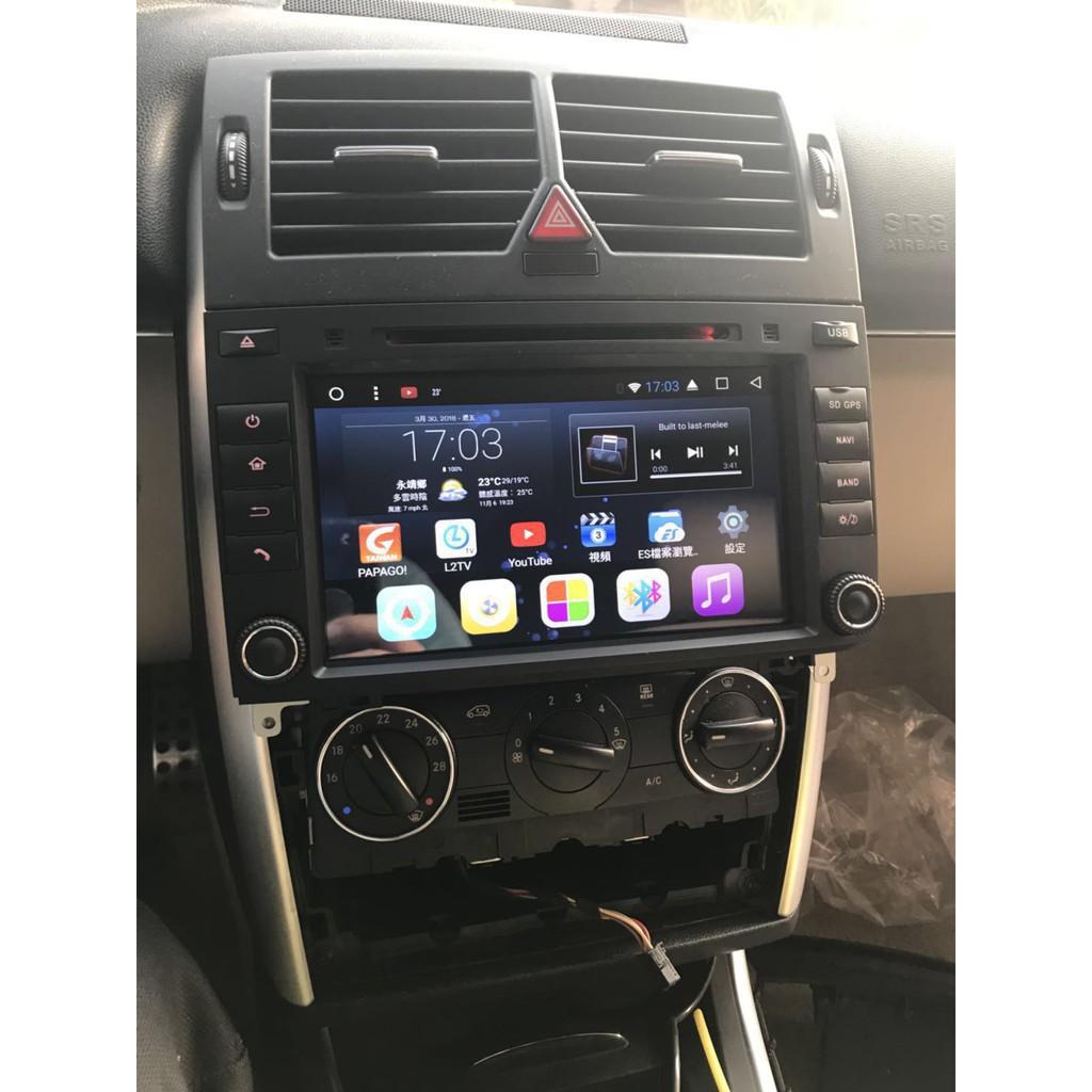 賓士B-class W169-B200-B180-W245-Viano安卓系統 觸控螢幕 汽車主機