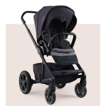 二手 Nuna MIXX 雙向嬰兒手推車 (附贈原廠杯架/ 餐盤/ 雨罩/ 涼感透氣坐墊)