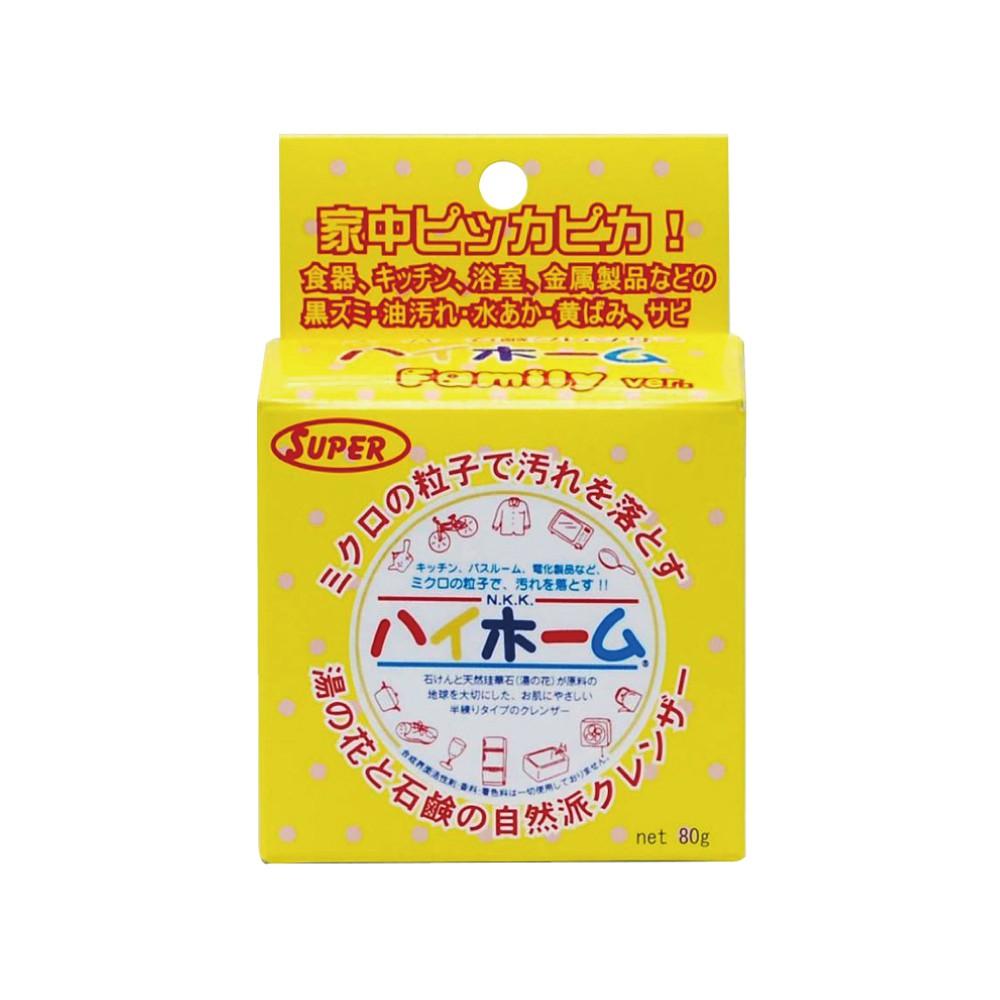 日本 湯之花 清潔 萬用膏 80g 清潔膏 廚房 浴室 HIGH HOME 阿志小舖