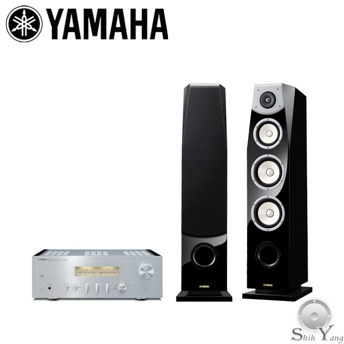 年末回饋組合 YAMAHA A-S1200 綜合擴大機 + NS-F901 落地喇叭 贈TT-S303 黑膠唱盤 公司貨
