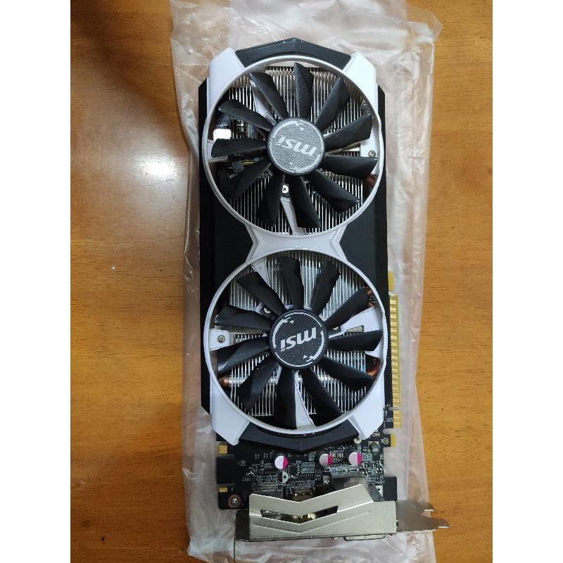 MSI微星 GTX970 4GD5T OC 支援DVI/HDMI/DP 顯卡功能正常 無原廠盒 過保/二手良品 快速出貨