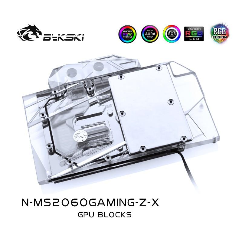 Bykski N-MS2060GAMING-Z-X 顯卡水冷頭 微星RTX2060 GAMING Z 6Galrgtko