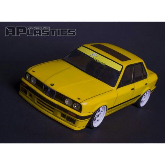 《G點模型》APlastics BMW E30 Sedan 1/10透明車殼