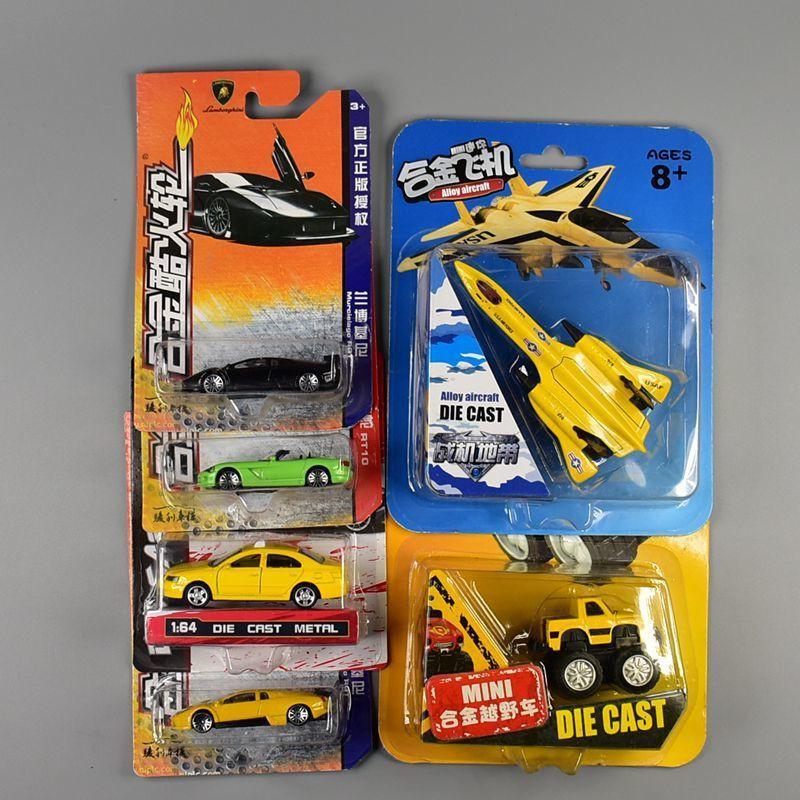 熱賣玩具 1:64仿真合金車模型玩具男孩小汽車滑行合金車橡膠輪胎迷你小跑車