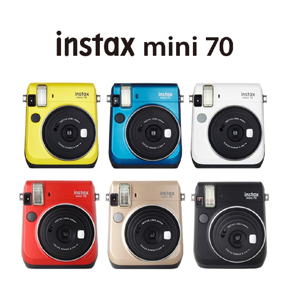 富士 FUJIFILM instax mini 70 拍立得 相印機【eYeCam】 mini 即可拍 空白底片 相機