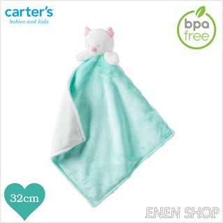 『Enen Shop』@Carters 貓頭鷹款baby安撫毛巾 #L35720H|one size 新生兒/ 彌月禮 新竹縣