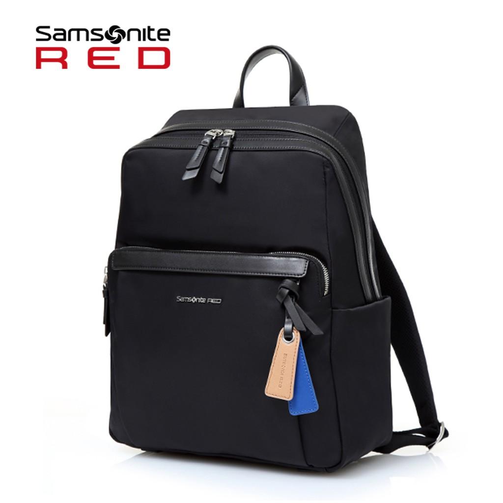 Samsonite RED 新秀麗【BELLECA GF7】14吋筆電後背包 輕量尼龍 減壓背帶 背後隱藏口袋