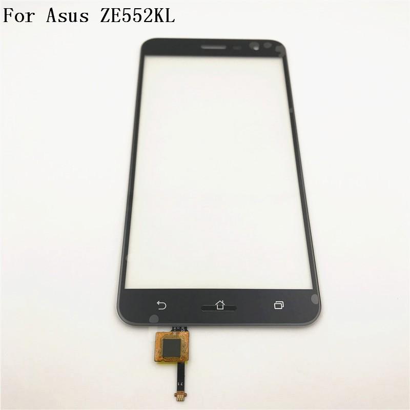 對於華碩 Zenfone 3 Ze552Kl Z012De Z012Da Z012D 數字轉換器觸摸屏面板傳感器