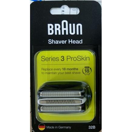 歡迎同業批發 百靈 BRAUN 32B 32S 刮鬍刀 刀頭 刀網組 Series3 S3 390 3090 3050