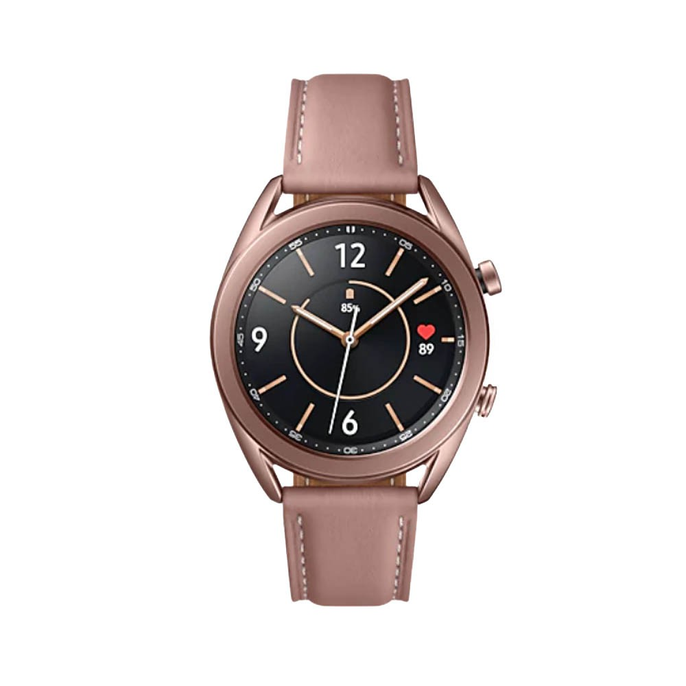 【SAMSUNG】三星 Galaxy Watch3 41mm (藍牙) R850 智慧手錶 星霧金 台灣公司貨 全新品