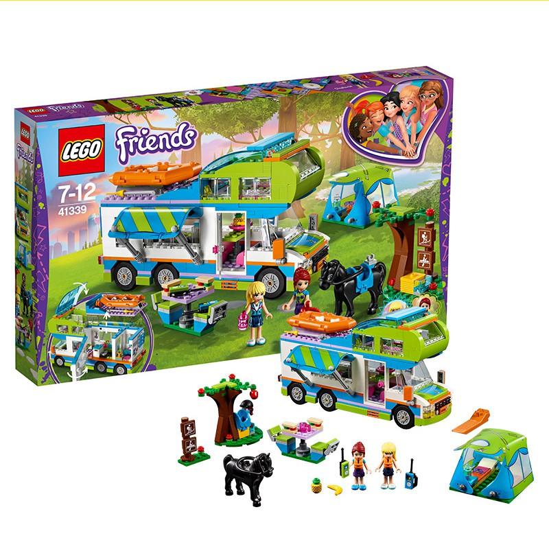 QC451  \n\n樂高積木好朋友女孩系列米婭的野營車41339兒童房車拼裝玩具