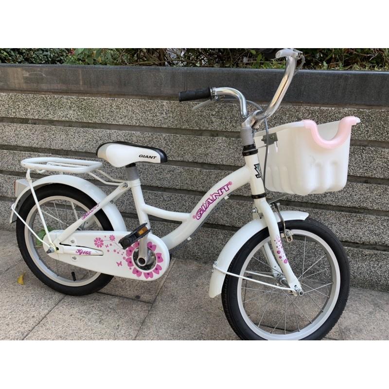 捷安特GIANT KJ165童車/兒童腳踏車 16吋 白色 沒有輔助輪