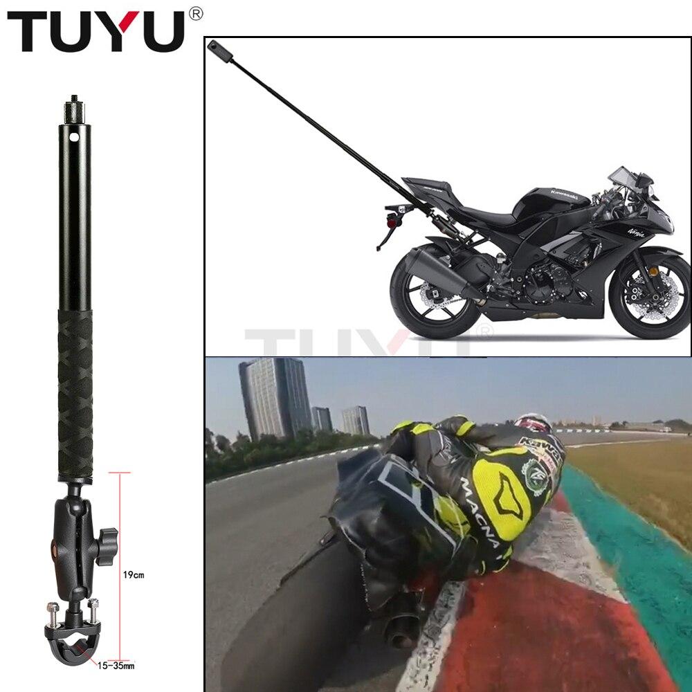 Tuyu 摩托車自拍杆擴展臂支架, 用於 insta360 One R X X2 Gopro Max 隱形自拍杆支架配件