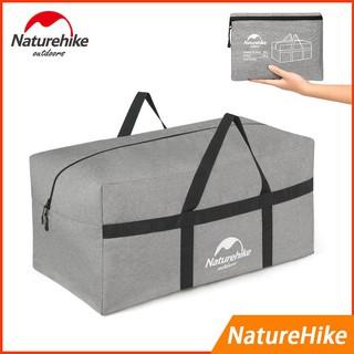 【戶外裝備收納包】Naturehike-100L超大收納袋輕便耐磨抗撕裂可折疊行李包出國旅行戶外野營用品收納包衣物收納袋