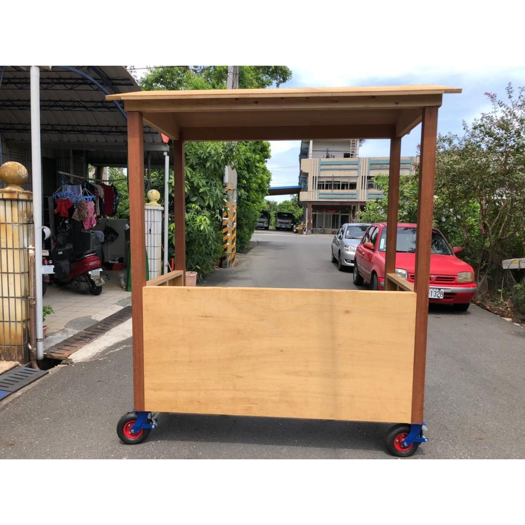 全新木製攤車 多種用途 拉麵 滷味 關東煮 飲料 甜品攤車 六吋