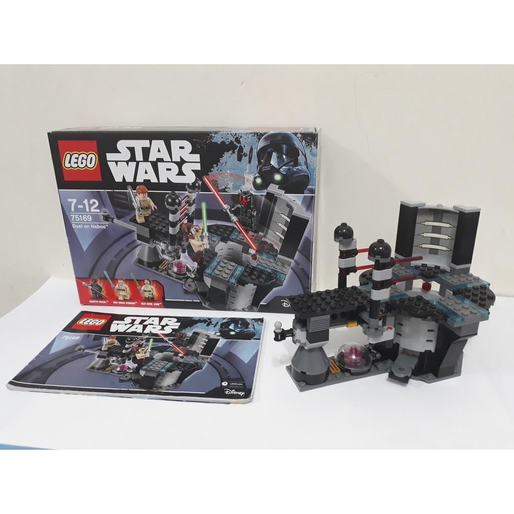 二手樂高-LEGO 75169 Star wars   Duel on Naboo 場景拆賣/ 無人偶