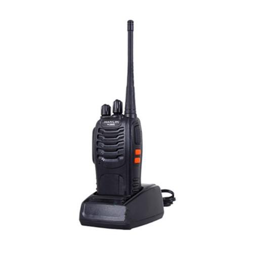 HANLIN-HL888S 無線電對講機 附專業耳機 鋰電 大功率 長距離 大音量 待機長 工地 飯店 保全 餐廳
